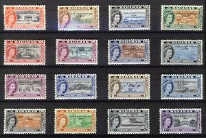 BAHAMAS 1964 DEFINITIVES SG228/243  MNH