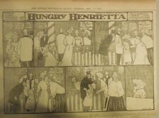 Hungry Henrietta by Winsor McCay from 5/21/1905! Half Page Size! 11 x 15 inches