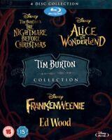 Tim Burton - The Nightmare Before Christmas / Alice IN Wonderland/Frankenweeni