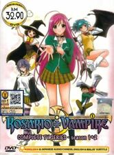 Anime DVD Rosario Vampire Season 1 + 2 Complete Animation Box Set English Audio