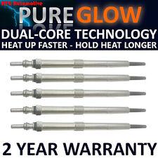 5x Diesel Heater Glow Plugs For Ssangyong Kyron Rexton Rodius 2.7 XDI  Dual Core