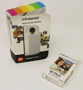 Motorola Moto Mod Polaroid Insta Share Printer for Z Z2 Z3 Play Force Smartphone