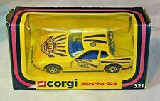 Corgi 321 Porsche 924 (Hella Livery), Mint in Good Original Box