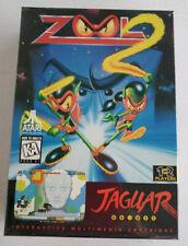 ZOOL 2 Atari Jaguar Cartridge NEW Factory Sealed J9042E