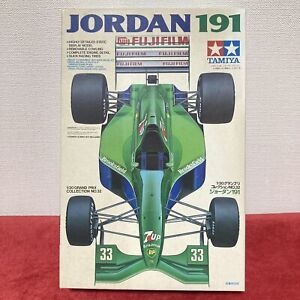 TAMIYA 1:20 JORDAN 191 B.Gachot 1991 Formula Car F-1 FUJIFILM 7up Ford Rare !!