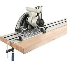 Circular Saw with Long Guide Track Rail for Cutting Plywood and Sheets
