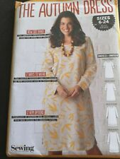The Autumn Dress Simply Sewing Pattern Uncut sizes 6-24