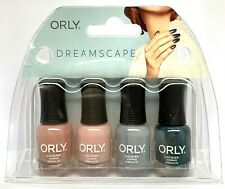 Orly Nail Lacquer - DREAMSCAPE - MINI Kit/Pack 4 Colors x 0.18oz/5.3ml