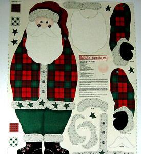 Daisy Kingdom SANTA DOOR PANEL  Makes a 43 Inch Tall Santa Decoration Cotton
