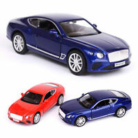 1:36 Bentley Continental GT Model Car Diecast Gift Toy Vehicle Kids Collection