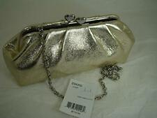 Brighton FIRST KISS CLUTCH W/ CHAIN   champagne/gold    NEW WITH TAG $110