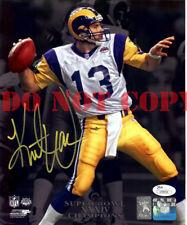 Kurt Warner Signed Autographed 8X10 Photo Rams Superbowl XXXIV Reprint