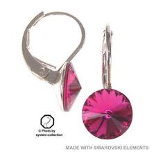 Mode-Ohrschmuck mit Kristall Schnappverschluss