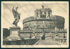 Roma Città Castel Sant'Angelo Ponte Elio FG cartolina VK2312