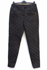 Leather Dry-clean Only Regular Size Jeans for Women