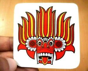 Sticker Vinyl Devil GARA YAKA -SL Traditional Art- Decorate Items Vehicle House