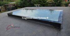 Skylight Flat Roof Rooflight D/B Glazed Glass 1000mm by 2500mm