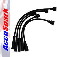 Negro AccuSpark 8mm Silicona de alto rendimiento de alta tensión cable