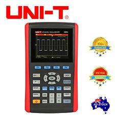 "UNI-T UTD1025CL Handheld Oscilloscope 3.5"" LCD 1 ch 25Mhz + DMM 200MS OZ"