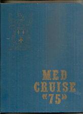 USS WAINWRIGHT DLG/CG-28 MEDITERRANEAN CRUISE BOOK 1975 Guided Missile Cruiser