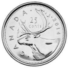 2014 CANADA 25 CENTS PROOF-LIKE QUARTER COIN