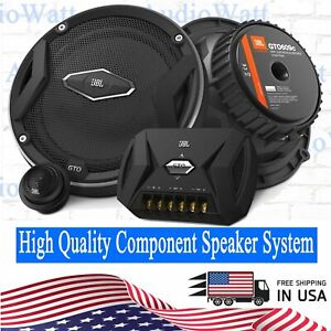 "JBL GTO 609C 6.5"" 2-Way CAR AUDIO 270 Watts Component Speaker System 6-1/2"""