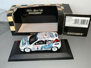 RALLY 1/43 MINICHAMPS FORD FOCUS WRC RS MARKKO MARTIN MONTE CARLO 2003 SOLD OUT