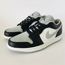 Nike Air Jordan 1 Low Shadow UK 9.5 US 10.5 EUR 44.5 Light Smoke Grey 553558 039