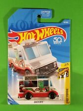 Hot Wheels - Quick Bite (White) [Hw 50th Anniversary]
