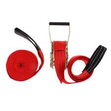 36ft Slackline Kit with Hook & Ratchet Balance Training Walking Backyard