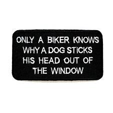 Funny Quite Sentence Biker Chopper Harley Backpack Jeans Jacket Shirt Iron patch