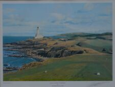 "Grame Baxter  Signed Print ""Ailsa Golf Course Turnberry"" in Scotland"