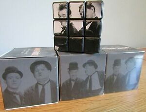 RARE BUT BRAND NEW LAUREL & HARDY WAY OUT WEST RUBIK CUBE