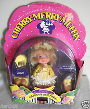 #8866 RARE NIB Vintage Mattel Cherry Merry Muffin Banancy Doll Banana Scented