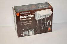 NOS Black & Decker HANDY Mixer SEALED BOX Rechargeable Cordless Beater #9210 NEW