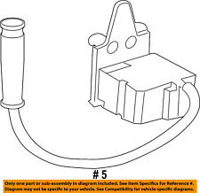 Buick GM OEM 11-16 Regal 2.0L-L4 Ride Control-Accelerometer 12841594