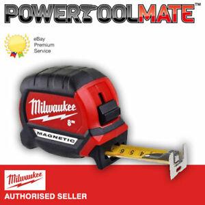 Milwaukee 4932464600 Magnetic Tape Measure 8m Metric