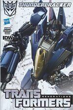 IDW Comics Transformers Generations Spotlight THUNDERCRACKER #1 Hasbro Variant