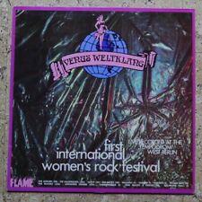 VENUS WELTKLANG – First International Woman's Rock Festival – LP