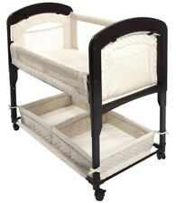 Arm's Reach Cambria Baby Co-Sleeper Bedside Bassinet Natural NEW