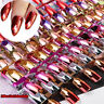 24PCS Acrylic False Nails Glitter Matte Full Finger Nail Tips Art Cover Manicure