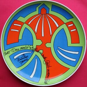 Emilio Pucci x Rosenthal Limited Edition Duomo di Firenze vintage plate Florence