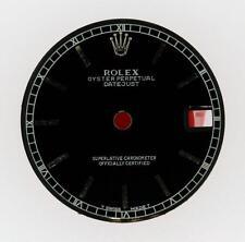 Original Rolex Midsize Datejust 68240 68274 78240 Black Stick Dial S/S #L31