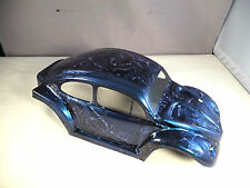 NEW VW BUG BEETLE BODY SHELL FOR TRAXXAS E-REVO 1/16 SCALE -  CANDY BLUE MARBLE