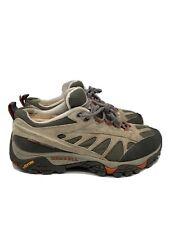 Merrell Mesa Ventilator Womens Waterproof Hiking Trail Shoes Olive Green Size 10