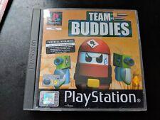 Team Buddies (Sony PlayStation 1, 2000) - PAL version, no manual