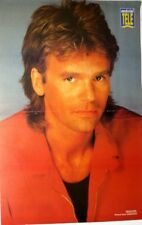 RICHARD DEAN ANDERSON => 2 PAGES 1991 FRENCH POSTER CLIPPING (FREE Shipping !!!)