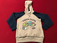DISNEY STORE MONSTERS UNIVERSITY HOODED FLEECE PULLOVER SWEATER SIZE 2/3 NWT