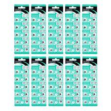 Tatakai® AG1 1.55V LR621 LR60 Coin Cell Button Alkaline Disposable Batteries