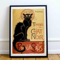Le Chat Noir (1896) - Théophile Steinlen. High quality reproduction poster